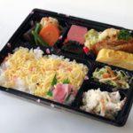 日替わり寿司弁当の写真