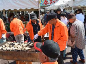 焼き牡蠣の画像