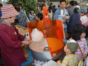 綿菓子の画像